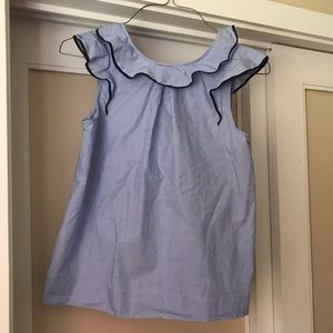 J. Crew chambray blouse. Worn once.